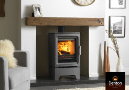 How to Clean the Glass Front of Your Wood Burning Stove